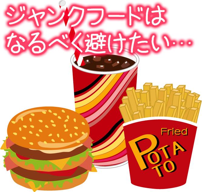 ニキビとジャンクフード.jpg